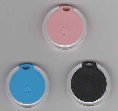 iTag Bluetooth GPS Tracker Keys Bag Wallet Pet Wireless Locator Round Shape
