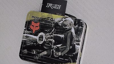 Motocross MX lunch box Fox collectable memorabila Pastrana Hannah DeCoster