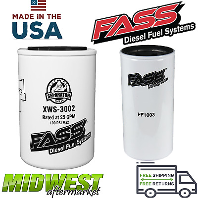 FASS FUEL SYSTEM HD HEAVY DUTY Series Replacement filter for
