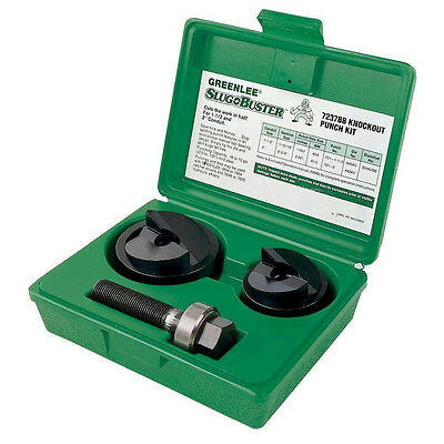 Greenlee 7237BB 1-1/2 And 2 Conduit Size Manual Slug-buster Knockout Punch Kit