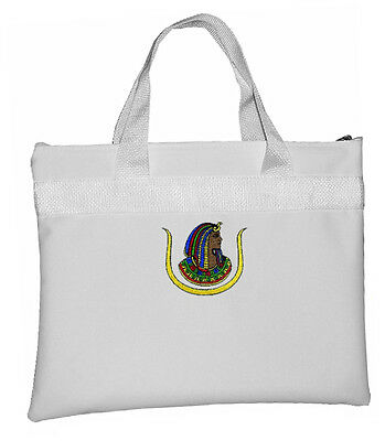Ancient Egyptian D.O.I - White Masonic Tote bag Freemasons - Classic Daughters