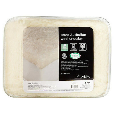 NEW Fitted Australian Wool Underlay Made with ultra.fresh freshness protection