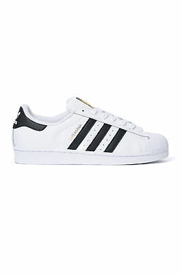 New ADIDAS Womens Superstar White/Black Sneakers