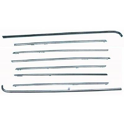 1977-1985 Mercedes 123 Chassis 8-Piece Body Side Molding Kit 70-247770-1