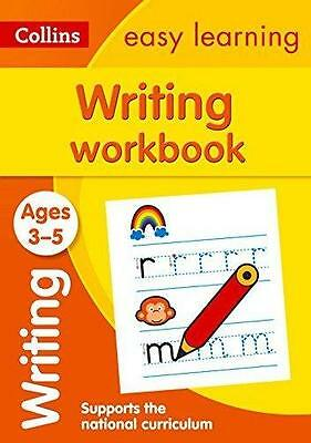 Writing Workbook Ages 3-5: New Edition - by Collins Easy Learning Preschool