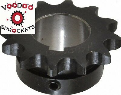 "40B12 G&G, 1/2 Inch Pitch, Chain Size 40, Finished Bore Sprocket 1"" Bore."