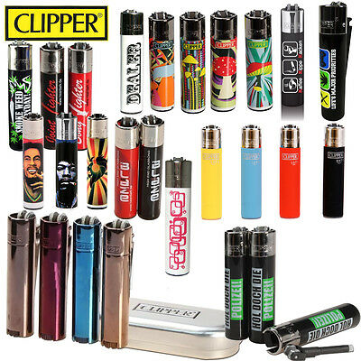 Briquet Clipper rechargeable - Collection - Nombreux modèles ! Gas Lighter
