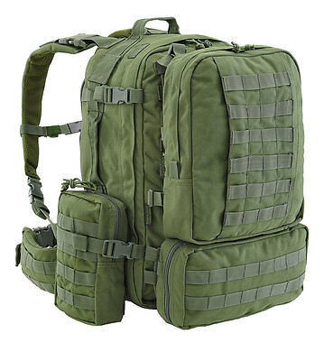 Defcon 5 extreme fast release modular backpack full molle olive green