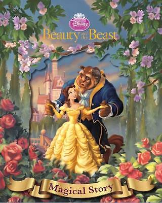 Disney Beauty and the Beast Magical Story with Amazing Moving Picture Cover by P