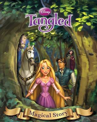 Disney Tangled Magical Story with Amazing Moving Picture Cover by Parragon Book