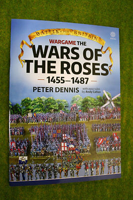 WARGAME THE WARS OF THE ROSES 1455-1487 Paper Soldiers Peter Dennis & Andy Ca...