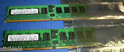 SAMSUNG SERVER RAM  M393T5660QZA-CE6 4GB (2x2GB)DDR2 240Pin PC2-5300 667 MHz REG