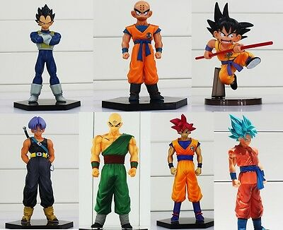 figuras DRAGON BALL Z  Dramatic Showcase Gohan Goku Trunks krilin Frezer Vegeta