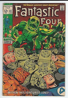 """Fantastic Four #85!! """"...within This Tortured Land""""!!"""