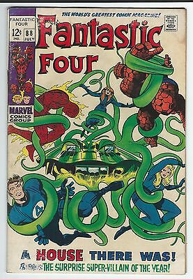 """Fantastic Four #88!! """"a House There Was!"""""""