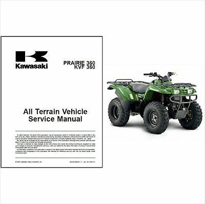Kawasaki kvf 360 service manual