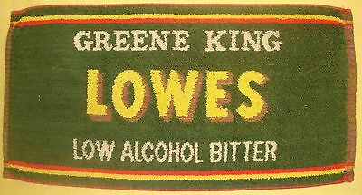 Greene King -  Beer Pub Bar Towel From England