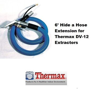 Thermax Therminator DV-12 6' Hide a Hose Extension with Stainless Steel Upholste