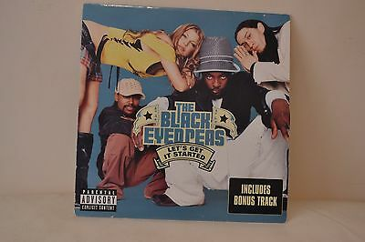"""The Black Eyed Peas - Let's Get It Started * 12"""" Vinyl Record *"""