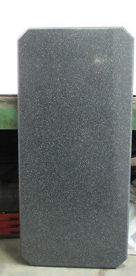 "Acrylic In/outdoor Restaurant Table Top 48"" X 22"" X 1"" Black Granite ***nnb***"