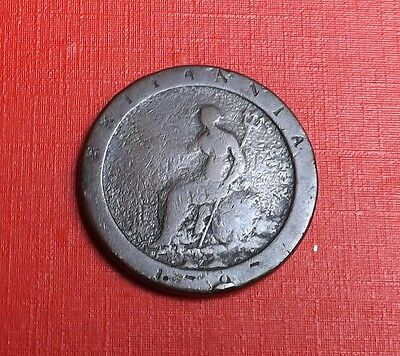 George 111 1797 Cartwheel Penny Very Nice Rare Coin