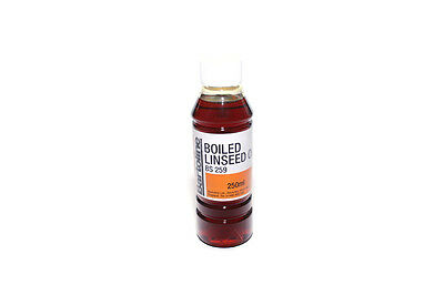 250Ml Boiled Linseed Oil Bartoline Wood Treatment Internal And External Sealer