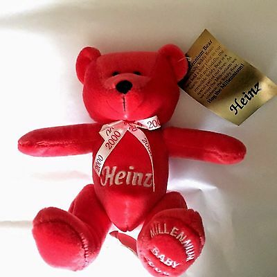 "HEINZ MILLENNIUM BABY 2000  NEW  Plush Soft 6"" Stuffed Animal Toy"
