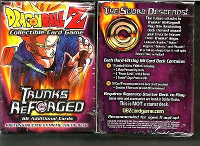 *Dragonball Z CCG TCG Trunks Reforged Sealed Theme Deck by Score 2002  66 Cards*