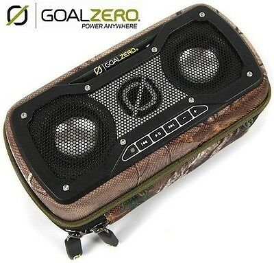 New Goal Zero Rock Out 2 Portable Rechargeable Speakers - DarkBass in Camo