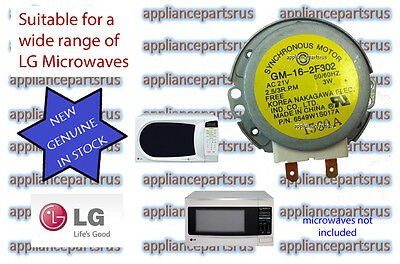 LG Microwave Turntable Motor 6549W1S017A 6549W1S011B NEW GENUINE 21V 2.5/3RPM