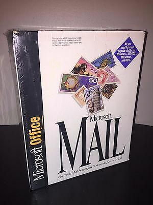 1993 Microsoft Office Software Excel Powerpoint Word Mail Access