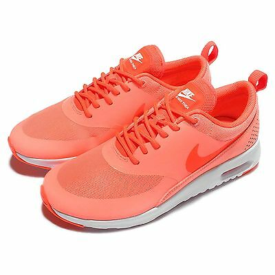 Wmns Nike Air Max Thea Orange White Womens Running Trainers Sneakers 599409-608