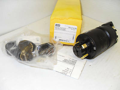 NEW HUBBELL HUBBELLOCK PLUG HBL21415B 250/600-V 20/30A  30-Amp *** NEW IN BOX **