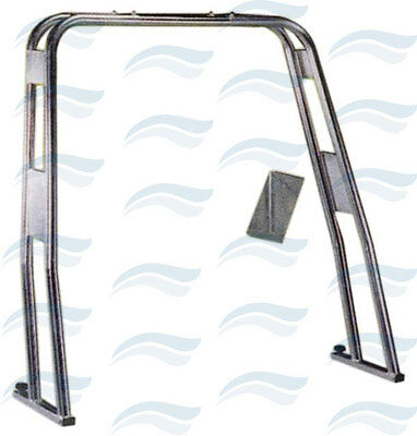 Roll Bar Droit Inox Ø 40 Mm Largeur 1250-2200 Mm