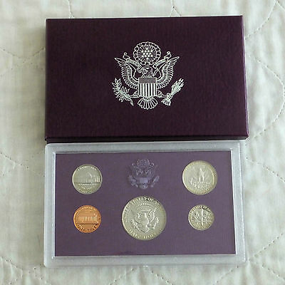 USA 1984 s 5 COIN PROOF YEAR SET - sealed/outer