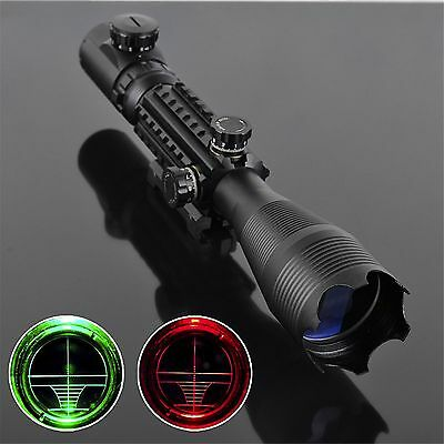 4-16x50EG Telescopic Green /Red Hunting Rifle Scope Sight LLL Night Vision New