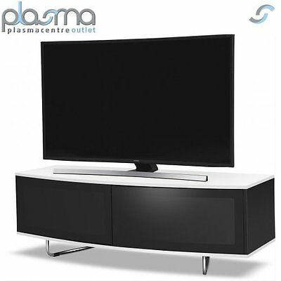 "MDA Designs Caru TV Stand for up to 65"" TVs - White"