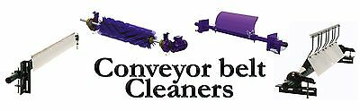 Conveyor belt cleaner scraper , rubber belting , quarry belting , replacement