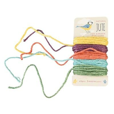 dotcomgiftshop SET OF FIVE JUTE GARDEN TIES