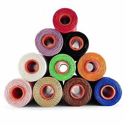 1mm Leather sewing waxed thread wax cord For Upholstery Shoes Luggage Repair ACK