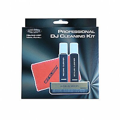 Acc Sees Professional DJ Cleaning Kit With Vinyl Brush Stylus Cleaner & Fluid