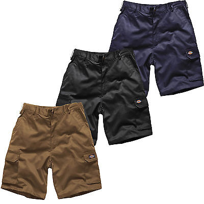 DICKIES Mens REDHAWK Summer Work SHORTS Action Wear Cargo Combat Sizes 30-44