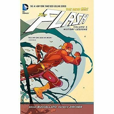 The Flash Volume 5 History Lessons Hardcover Graphic Novel DC 9781401249502