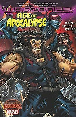 Age of Apocalypse Secret Wars Warzones TPB Graphic Novel Marvel Comics