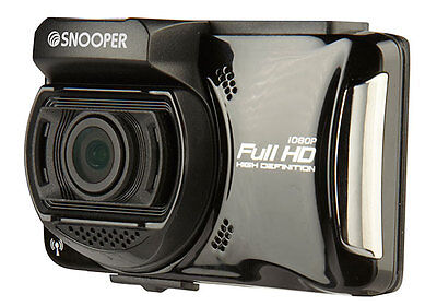 "Snooper DVR-4 HD Professional Truck / Car Dash Cam Camera 1080p HD + 2.7"" Screen"