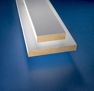 Superior Quality MR MDF Square Edge Skirting Boards *3 Metre lengths*