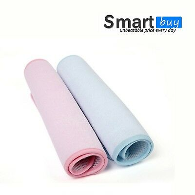 Baby Change Mat Bamboo Nature Fiber Mattress Protector Urine Protect Blue Pink