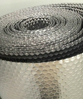 """3/16"""" Double Bubble Double Metalized Mylar Insulated Reflective Wrap - 16""""x125'"""