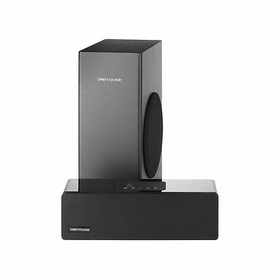 Orbitsound M9LX 2.1CH 200W Bluetooth Sound Bar with Wired Subwoofer, Piano Black