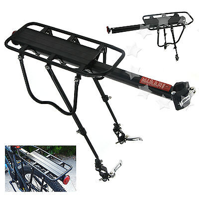 Quick Release Bicycle Mountain Bike Rear Rack Seat Post Mount Pannier